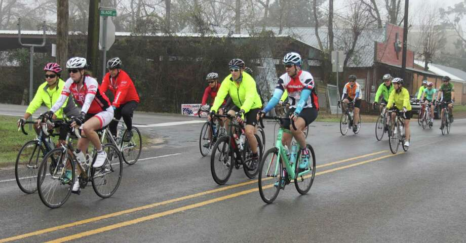 The Bike Through the Forest and Hills is one of the largest fundraisers for the Kingwood Fillies drill team. The event will be held this year on Jan. 20 in Coldspring, Texas, and will prove to be beneficial to the Fillies who lost much of their equipment due to Kingwood High School getting flooded by Hurricane Harvey. Photo: Jacob McAdams