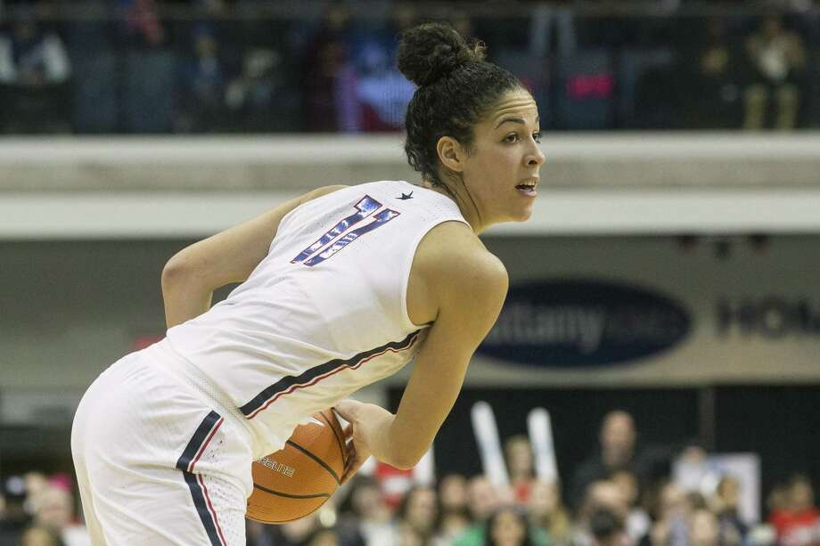 UConn's Kia Nurse leads all Division I women's players by connecting on 55.8 percent of her 3-point attempts. Photo: Chris Young / Associated Press / The Canadian Press