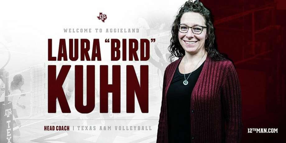 "Laura ""Bird"" Kuhn announced as the head volleyball coach for Texas A&M Photo: Https://twitter.com/12thMan"