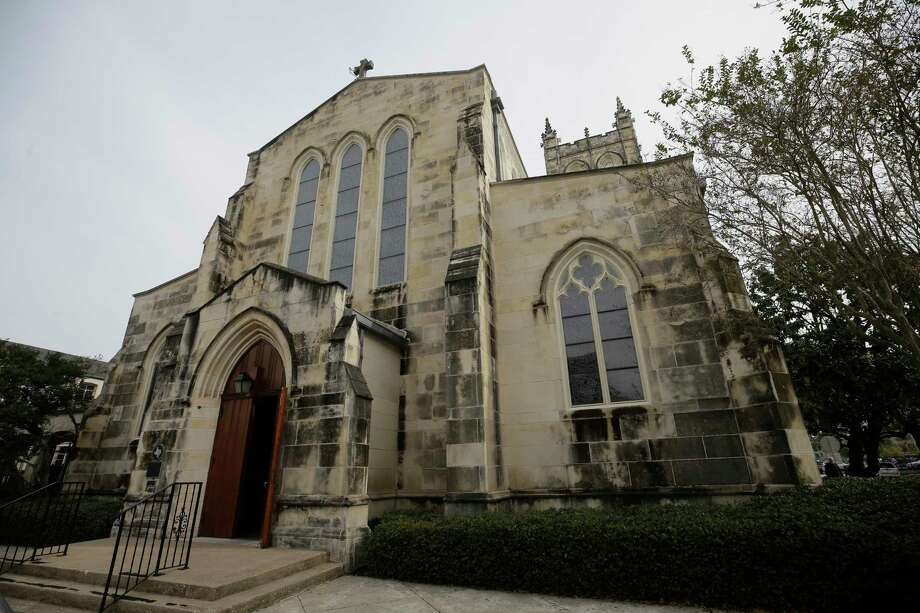 Trinity Episcopal Church was founded in 1893 and moved to its current location on Main at Holman in 1910. Photo: Melissa Phillip, Houston Chronicle / © 2017 Houston Chronicle