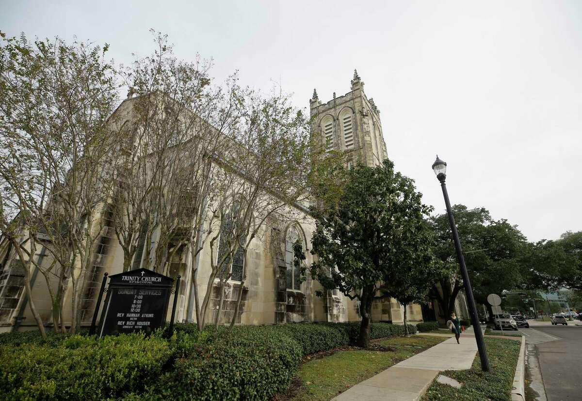 Trinity Episcopal Church, 1015 Holman St., is shown during their Cornerstone Centennial Celebration Sunday, Dec. 17, 2017, in Houston. ( Melissa Phillip / Houston Chronicle )
