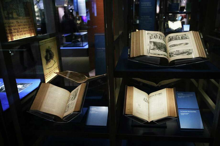 The month-old, 430,000-square-foot Museum of the Bible in Washington, D.C., invites visitors to engage with the Bible. Photo: Alex Wong, Staff / 2017 Getty Images