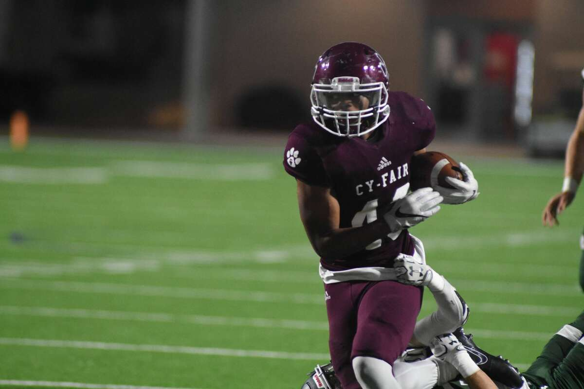 Running back Trent Kennedy, Sr., Cy-Fair An 1,800-yard season with 28 touchdowns sounds about right for the focal point of state champion Cy-Fair's offense. Kennedy was named Offensive MVP of the Class 6A Division II state title game.
