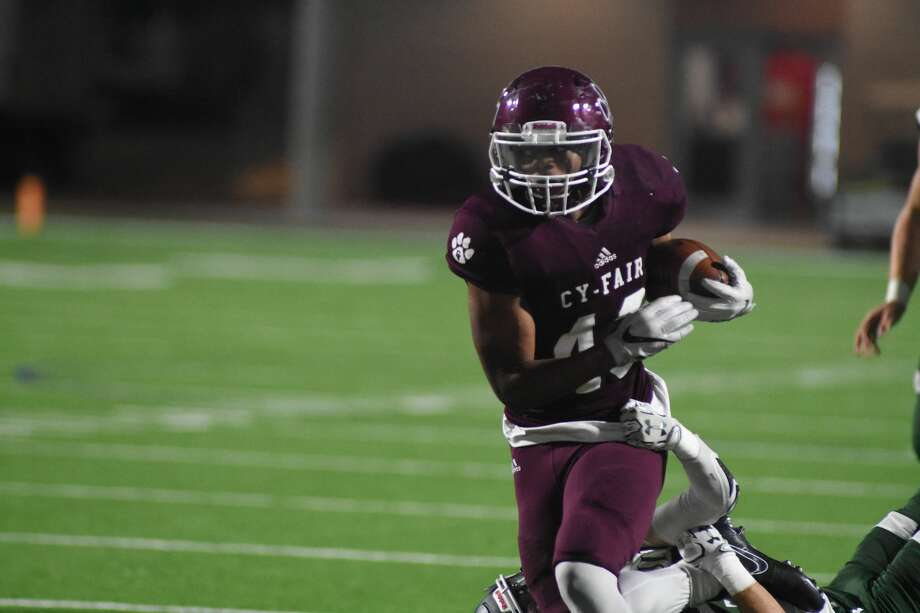 Running back Trent Kennedy, Sr., Cy-FairAn 1,800-yard season with 28 touchdowns sounds about right for the focal point of state champion Cy-Fair's offense. Kennedy was named Offensive MVP of the Class 6A Division II state title game. Photo: Tony Gaines/ HCN