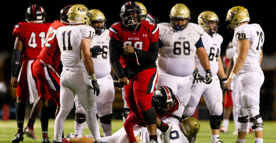 PHOTOS: AGH defenseDefensive lineman Keondre Coburn, Sr., WestfieldCount the accolades for Coburn — Under Armour All-American and the Defensive Player of the Year for both District 16-6A and the Touchdown Club of Houston. He turned in 56 tackles and 7 1/2 sacks at defensive tackle.Browse through the photos to see the Houston Chronicle's selections for All-Greater Houston defensive teams. Photo: Staff Photographer/HCN