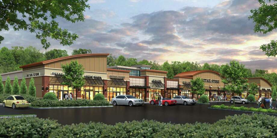 A rendering of Fountain Square, 801 Bridgeport Ave., in Shelton. Photo: Contributed Rendering / Connecticut Post Contributed