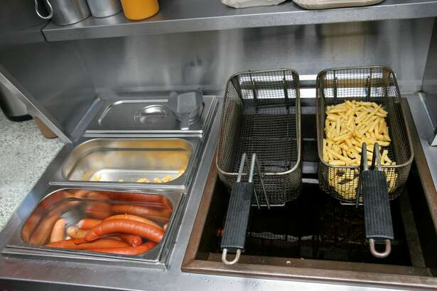 Shot of a commercial kitchen at a concession stand