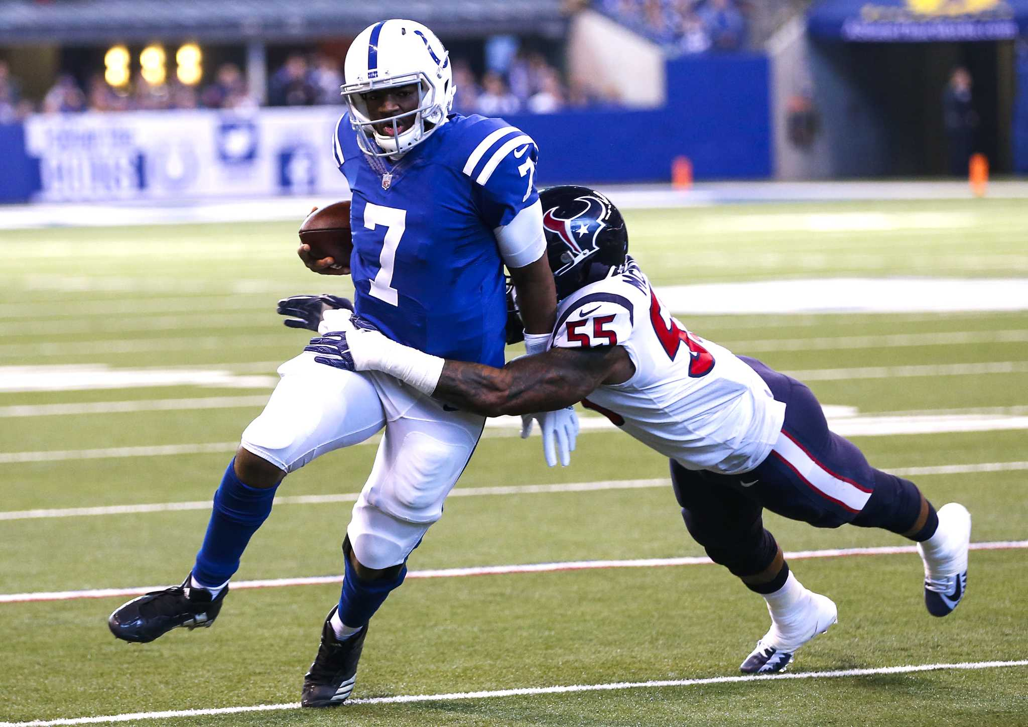 Texans at Colts: Houston Chronicle staff predictions
