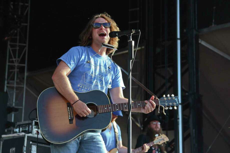 Whiskey Myers performed a slew of country rock songs Saturday during the 2014 Texas Thunder Country Music Festival. Tyler White/Reporter-Telegram Photo: Tyler White