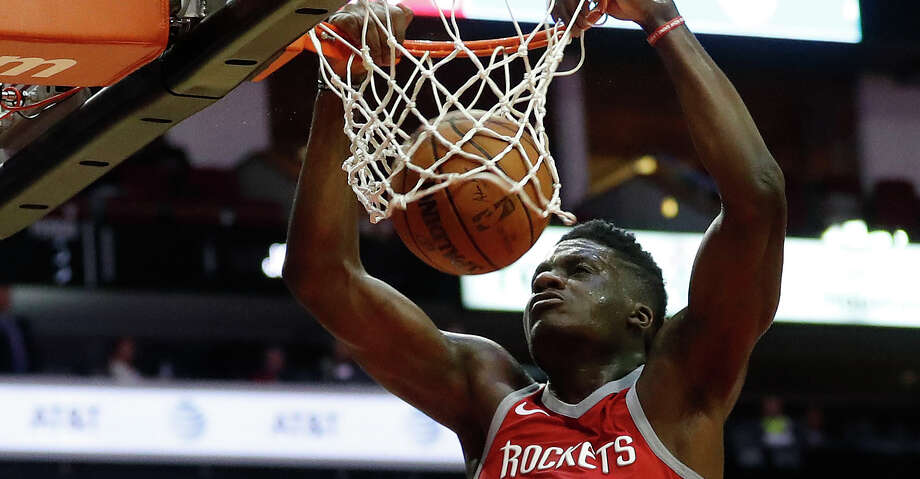 PHOTOS: Rockets game-by-gameClint Capela returned on Sunday wearing a protective mask.Browse through the photos to see how the Rockets have fared through each game this season. Photo: Karen Warren/Houston Chronicle