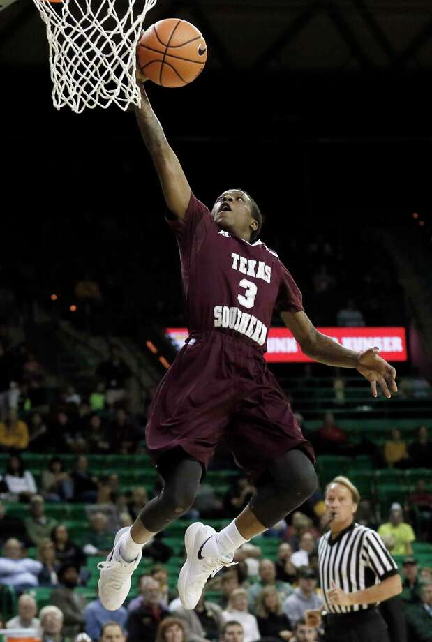 Texas Southern guard Demontrae Jefferson leads the winless Tigers in scoring, assists and minutes. Photo: Tony Gutierrez, STF / Copyright 2017 The Associated Press. All rights reserved.