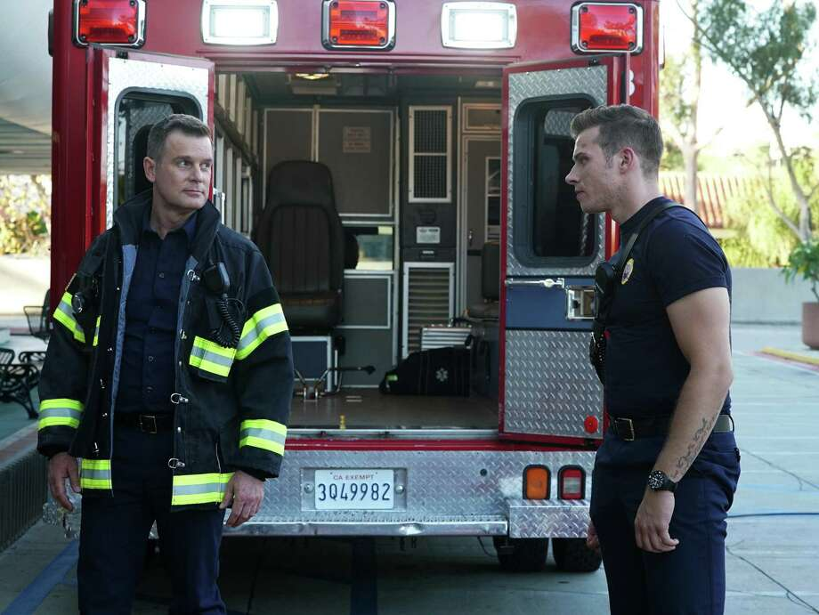 "Peter Krause stars in the new Fox series ""9-1-1."" Photo: Richard Foreman Jr. SMPSP / Richard Foreman Jr."