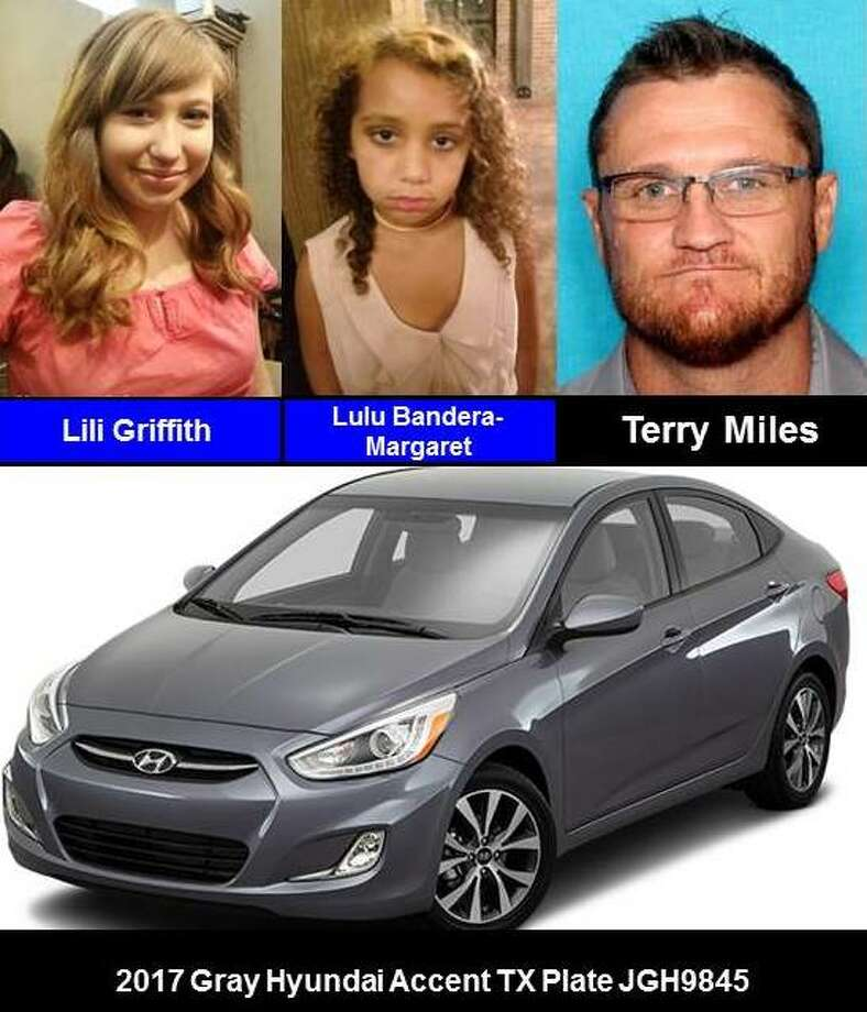 "Round Rock police said Lili Griffith and Lulu Bandera-Margaret are in ""grave or immediate danger"" after they were abducted by Terry Miles. Police issued an Amber Alert on Sunday, December 31, 2017. (Photo courtesy of  Texas Department of Public Safety)"
