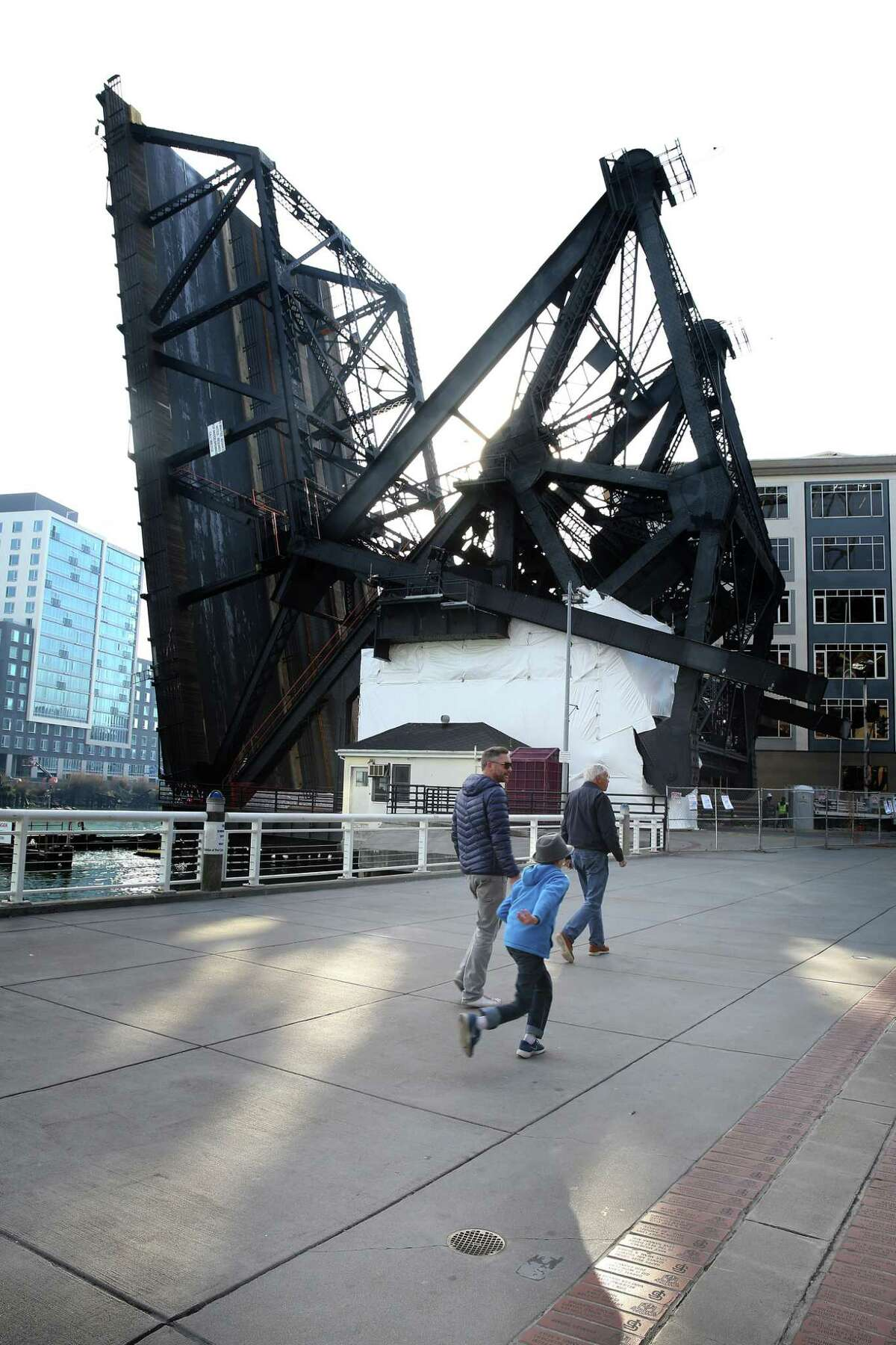 The Lefty O'Doul Bridge is undergoing repairs and will be closed to traffic and pedestrians until Jan. 26.