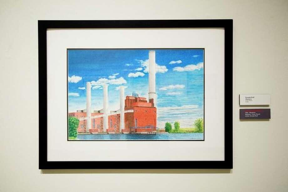'Weadock' by Donald Rulf won an honorable mention in the Midland Center for the Arts Studio School art exhibit. (Katy Kildee/kkildee@mdn.net)