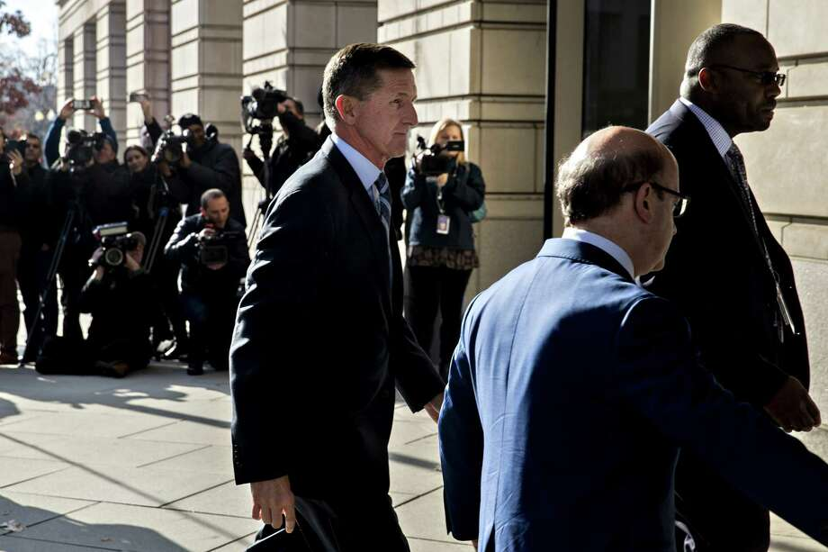 Michael Flynn arrives at the U.S. Courthouse in Washington, D.C., on Dec. 1, 2017. Photo: Bloomberg Photo By Andrew Harrer. / © 2017 Bloomberg Finance LP
