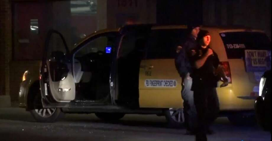 A taxi driver was shot in the shoulder by an unknown assailant in the early morning hours of January 1, 2018, in Houston's Greater Fifth Ward neighborhood, city police said.
