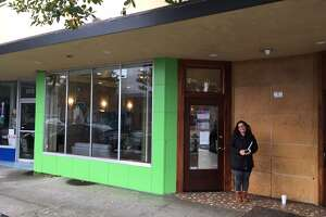 An hour before EcoCann Dispensary in Eureka opened its doors, only one customer was holding down a spot in line outside the three-month -old dispensary that was soon to open as the first permitted recreational shop in Humboldt County.