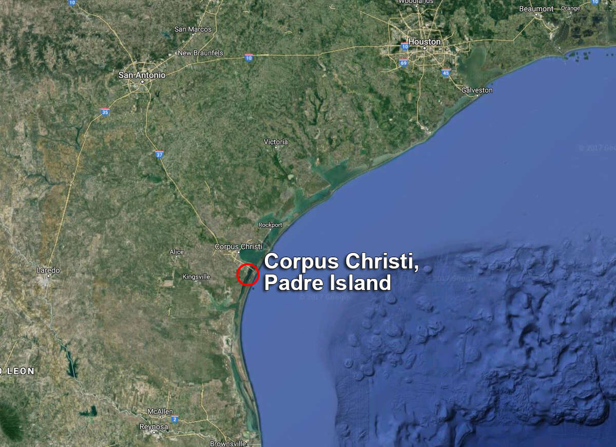 Corpus Christi, Padre Island: The area is bounded on the north by Packery Channel, on the subdivision west by the ICWW and on the south by a line drawn due east from the intersection of the New Humble Channel and the ICWW to the mainland (along 27° 35.25