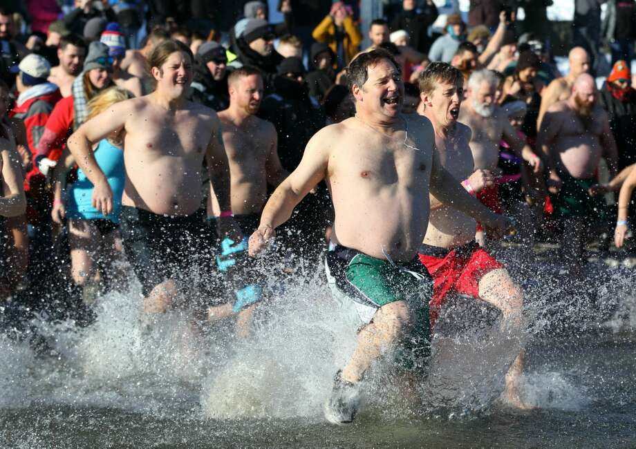 Were you Seen at the 2018 Lake George Polar Plunge at Shepard Park Beach on Sunday, Jan. 1, 2018? Photo: Gary McPherson - McPherson Photography