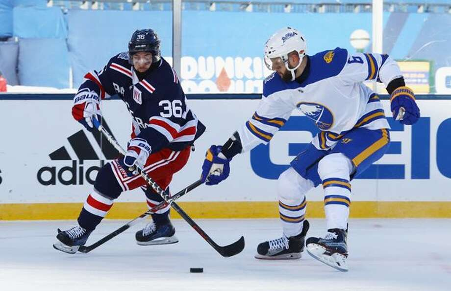 de116112e 2018 NHL Winter Classic  14 Things You Didn t See on TV. New York Rangers  and Buffalo Sabres take ...