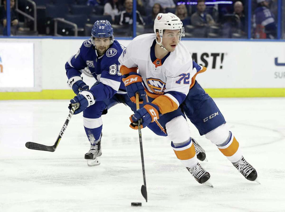 New York Islanders center Anthony Beauvillier was sent down to the Bridgeport Sound Tigers on Monday.