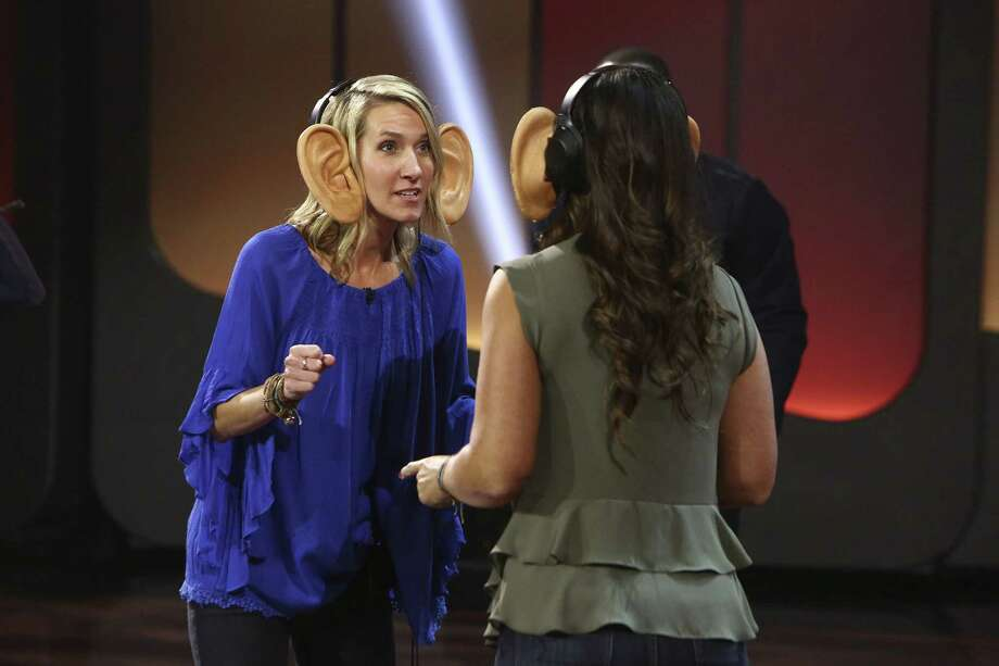 "ELLEN'S GAME OF GAMES -- ""Say Hello To My Little Friends"" Episode 106 -- Pictured: (l-r) Valerie Haddock, Leah Jones -- (Photo by: Mike Rozman/NBC) Photo: NBC / 2017 NBCUniversal Media, LLC. Credit: Mike Rozman/NBC"