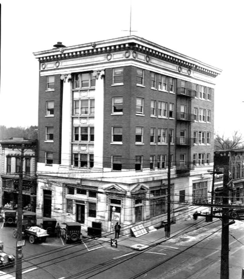 The original site of West and Prickett Bank. Opened on Jan. 1, 1868, it would soon become TheBANK of Edwardsville. TheBANK will celebrate its 150th anniversary in 2018. Photo: For The Intelligencer