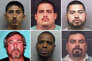 Pictured are the men suspected of homicide by the Laredo Police Department.