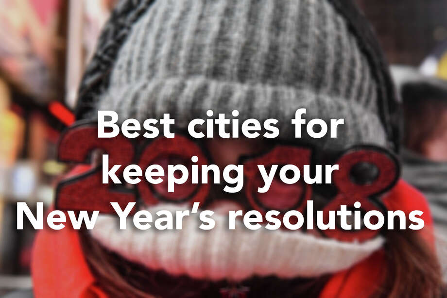 To determine where Americans are most likely to stick to their goals for 2018, WalletHub considered some of the most popular (and most commonly broken) resolutions to rank more than 180 U.S. cities based on their conduciveness to self-improvement. In each city, the personal finance website looked at a total of 52 key metrics, ranging from gyms per capita to income growth to employment outlook.Click through to see the 10 best cities for keeping your New Year's resolutions, according to WalletHub.(Photo by Stephanie Keith/Getty Images) Photo: Stephanie Keith/Getty