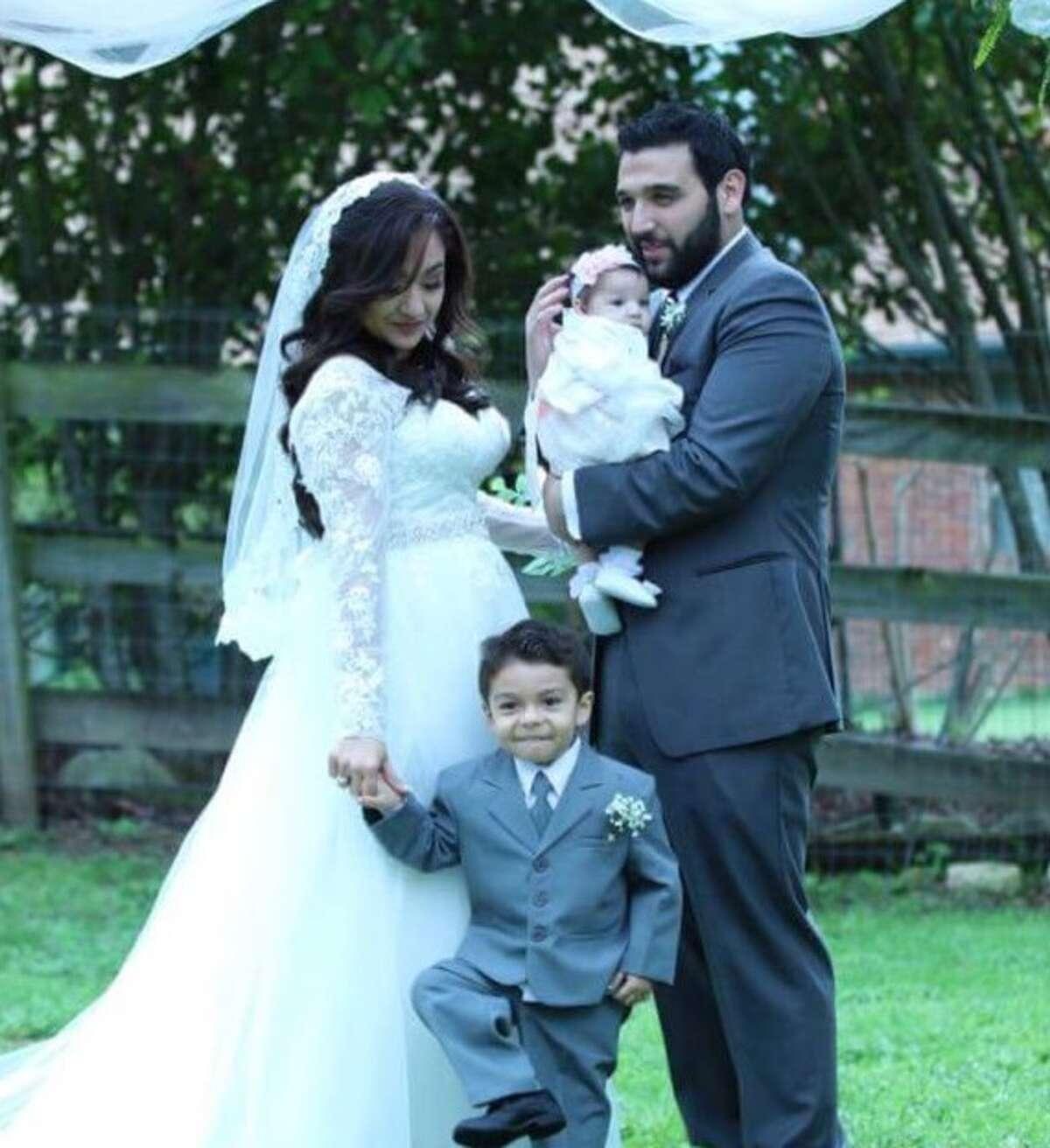 Samir Deais shared this family photo showing himself, wife Stephanie, son Alexander and daughter Ava Lynn.
