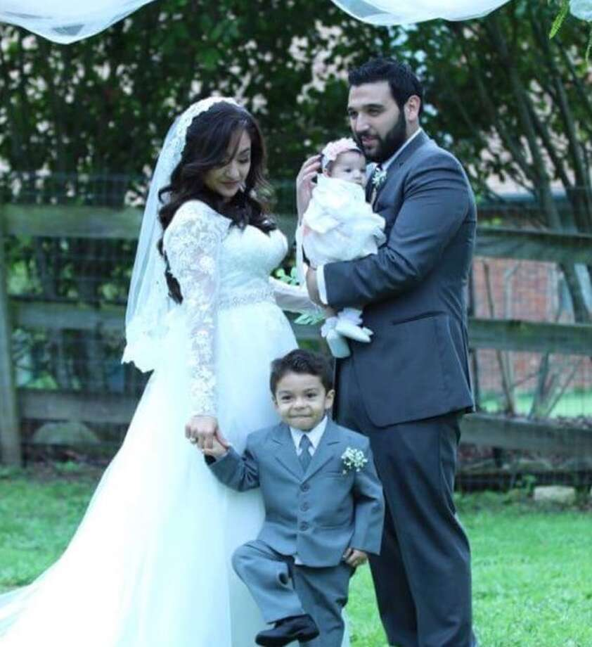 Samir Deais shared this family photo showing himself, wife Stephanie, son Alexander and daughter Ava Lynn.