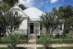AFTER: The restored and remodeled Historic Heights District home of Genevieve Withers.