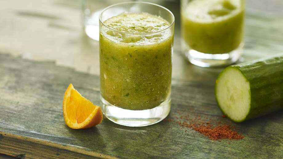 Spiced cucumber and apple morning boost. Recipe mentioned in column and on my website. Photo: Photo Provided By McCormick