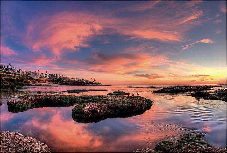 """La Jolla Cove is among San Diego attractions pictured in """"Highway 1 California: The Dream Road Along the Pacific."""""""