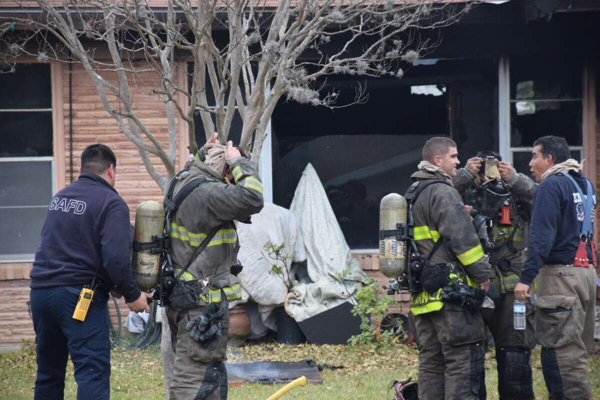 A family pet was killed and others are still missing after a fire erupted in a house in the 200 block of Montpelier Drive on Tuesday, Jan. 2, 2017.