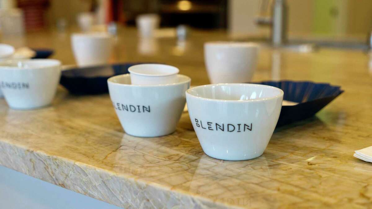 Blendin Coffee Club recently debuted their new gourmet coffee shop in the redesigned historic Sugar Land Bank Building.