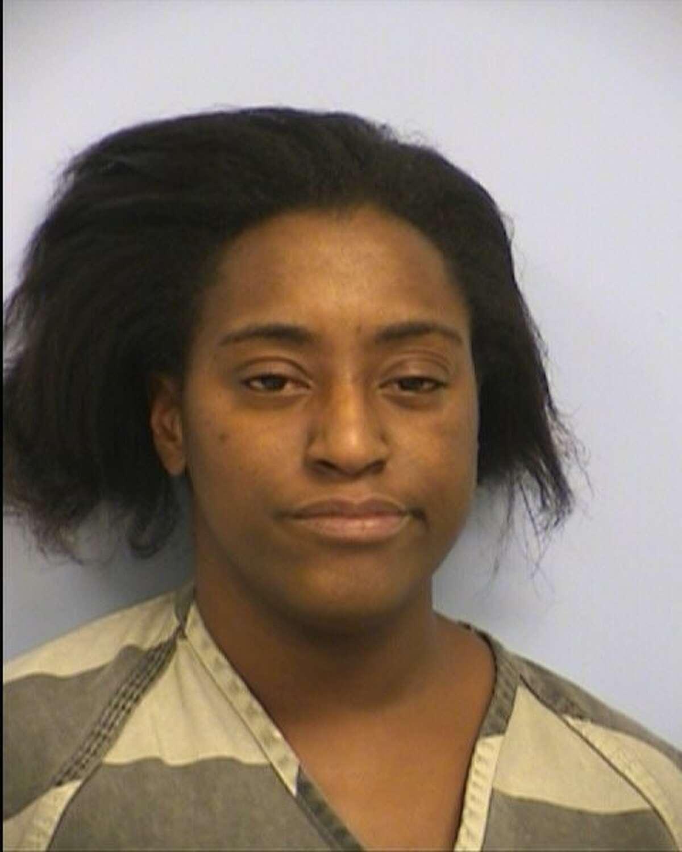 Lashanda Fisher, 28, is accused of public lewdness.