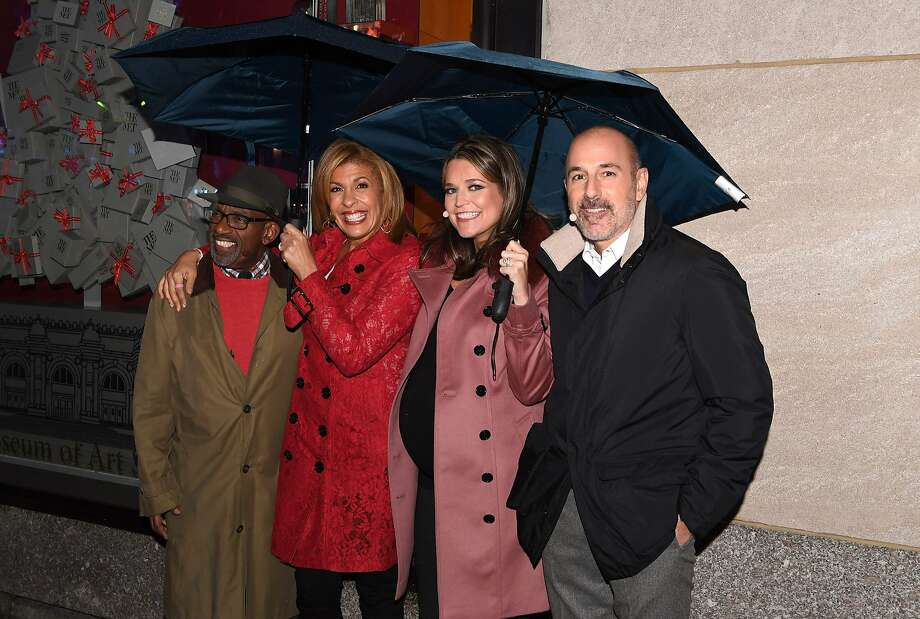 """Today"" show hosts (left to right) Al Roker, Hoda Kotb, Savannah Guthrie and Matt Lauer posed in 2016 in New York City. Photo: ANGELA WEISS, AFP/Getty Images"