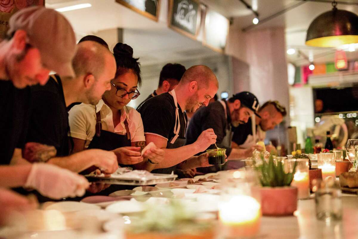 Scenes from Indie Chefs Week which is coming to Houston for three days, Jan. 5-7, 2018 to celebrate culinary creativity with more than two dozen chefs from Houston and across the country creating multi-course chef dinners.