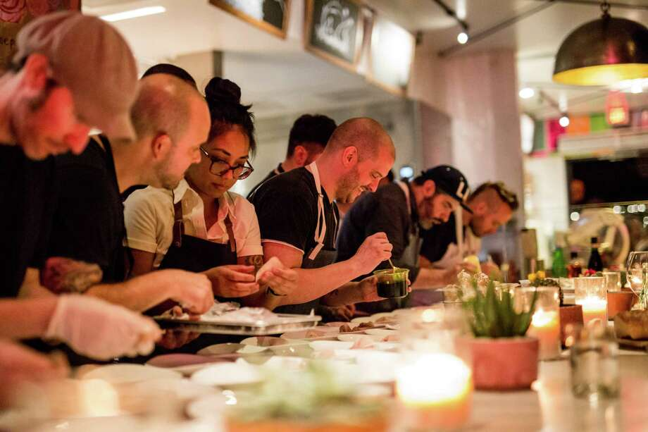 Scenes from Indie Chefs Week which is coming to Houston for three days, Jan. 5-7, 2018 to celebrate culinary creativity with more than two dozen chefs from Houston and across the country creating multi-course chef dinners. Photo: Kirsten Gilliam Photography