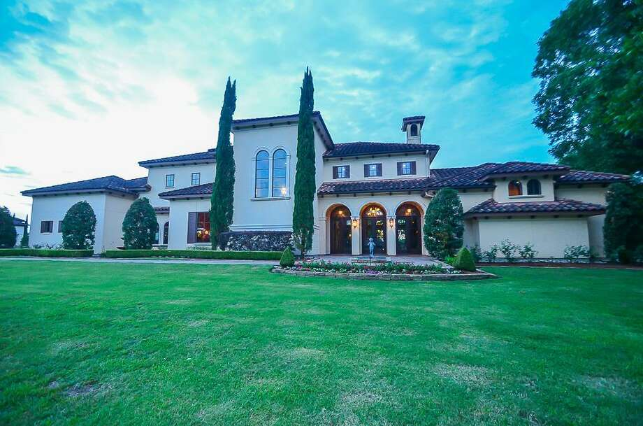 5002 Shiloh Lake Drive, Richmond The home sits on a 2 acre property overlooking a private golf course. See the listing at HAR.com Photo: Courtesy Terri Kurkjian/ RE/MAX Fine Properties
