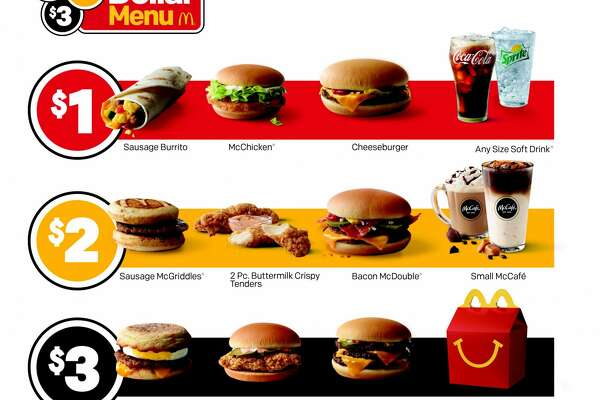 """McDonald's """"$1, $2, $3 menu"""" debuts on Thursday — but some locations are already serving the new value menu."""