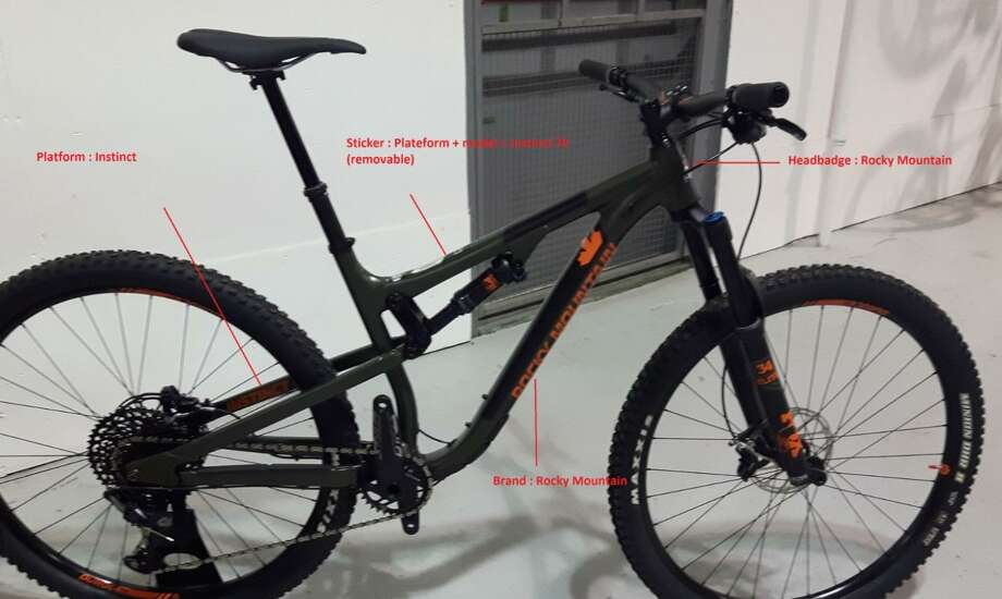 Rocky Mountain Bicycles is recalling about 1,300 mountain bikes sold in the United States Photo courtesy of the Consumer Product Safety Commission. Photo: Contributed / Contributed