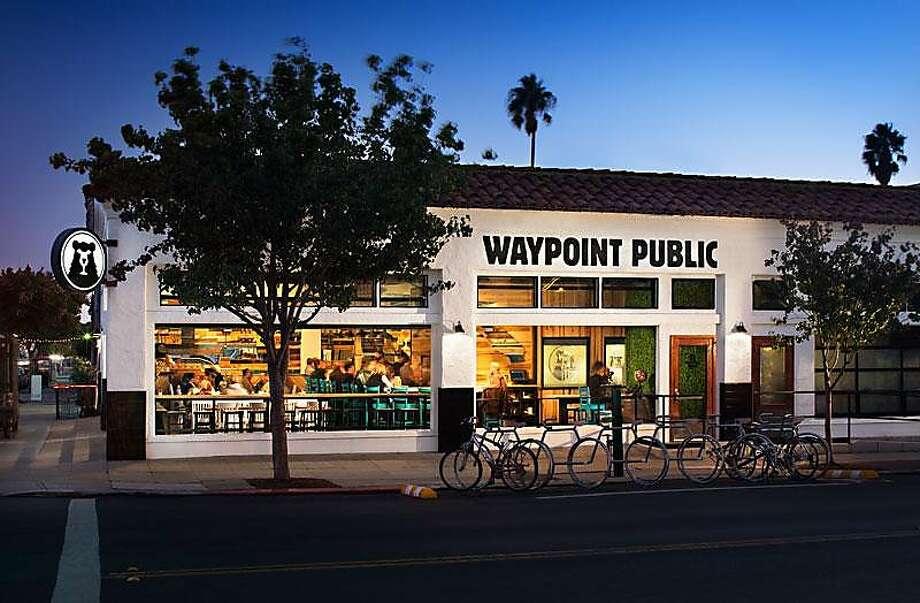 Waypoint Public is a hip gastropub in the North Park neighborhood of San Diego. Photo: Zack Benson