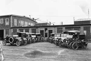 Autos and Trucks - City Light, March 31, 1918. Courtesy of the Seattle Municipal Archives Item 1553