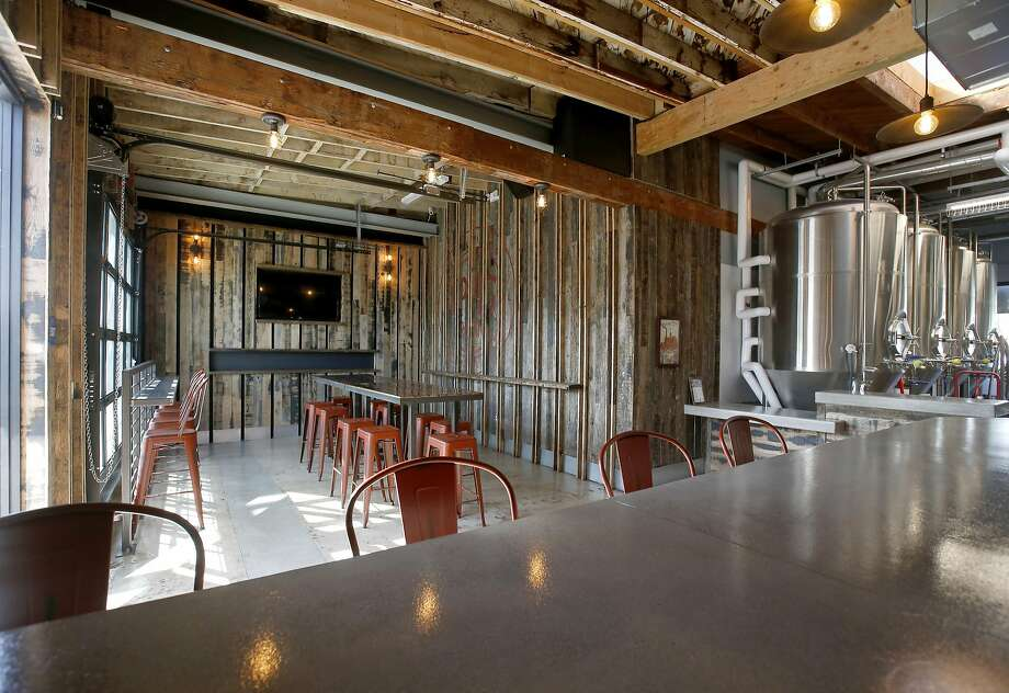 Interior of Eppig Brewing, a family-run brewpub in the increasingly hip North Park section of San Diego. Photo: Eppig Brewing
