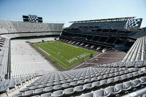Overall of the new stadium before the start of a college football game at Kyle Field on Saturday, Sept. 12, 2015.  ( Karen Warren / Houston Chronicle )