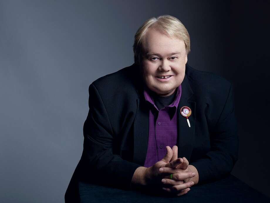 """Comedian Louie Anderson delivers comic and poignant char acteriza tions of the members of his family in the solo show """"Dear Dad,"""" but the work in progress would benefit from a stronger narrative drive. Photo: Courtesy Of Louie Anderson"""
