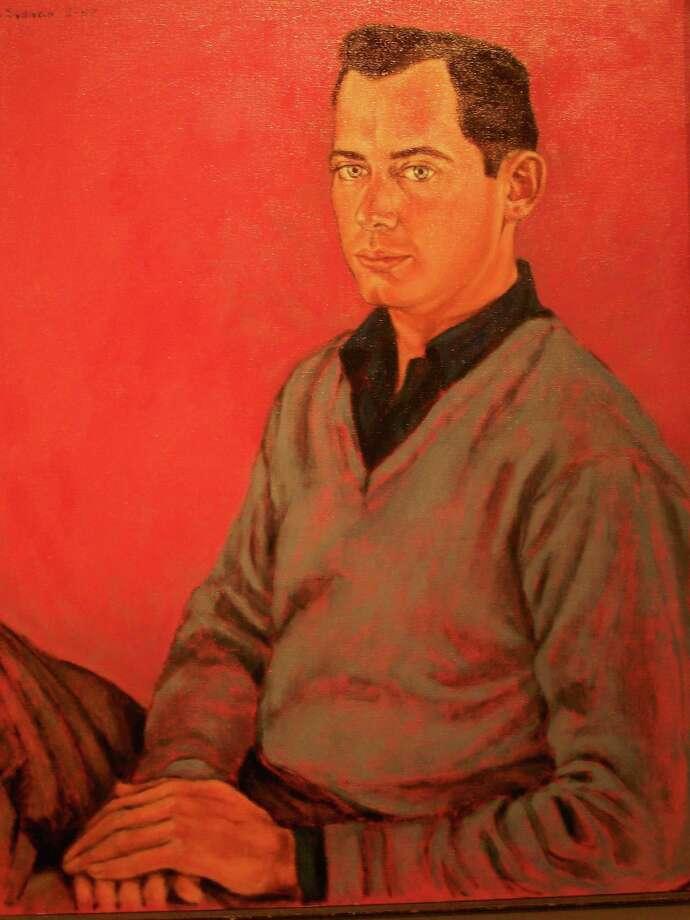 Stella Sullivan Portrait of McCracken, 1957 Oil on canvas Photo: Courtesy Of The Artist And Willi / handout email